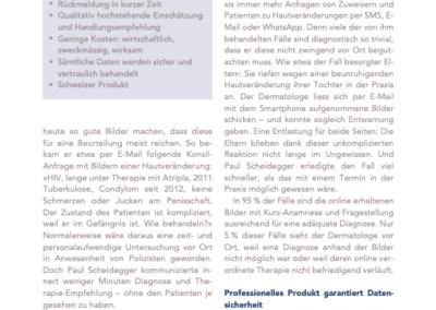 Schreibereien – Artikel in Medizin und Ökonomie, Seite 2