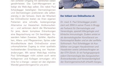 Schreibereien – Artikel in Medizin und Ökonomie, Seite 3