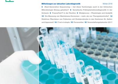 Schreibereien – Cover des Riport Magazins mit dem Artikel über Teledermatologie