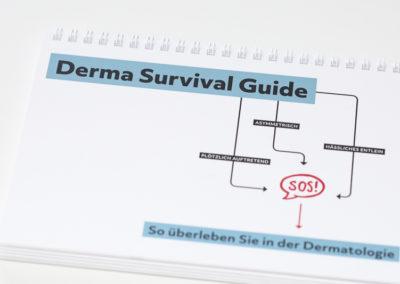 Schreibereien – Derma Survival Guide, Cover
