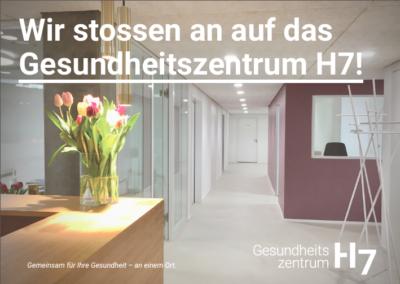 Schreibereien – Einladung Eröffnungsapéro Gesundheitszentrum