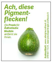 Schreibereien – Werbekampagne Praxis für Ästhetische Medizin, Beispiel 12