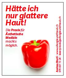 Schreibereien – Werbekampagne Praxis für Ästhetische Medizin, Beispiel 5
